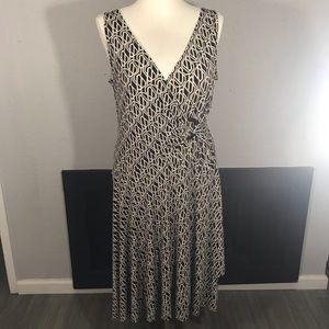 Jones New York V-Neck Circle Dress size 16